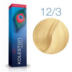 Wella Professional KOLESTON PERFECT 12/03 (Восход солнца) - Краска для волос