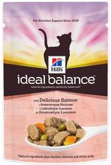 Пауч для кошек Hill's Ideal Balance Feline Adult с Лососем