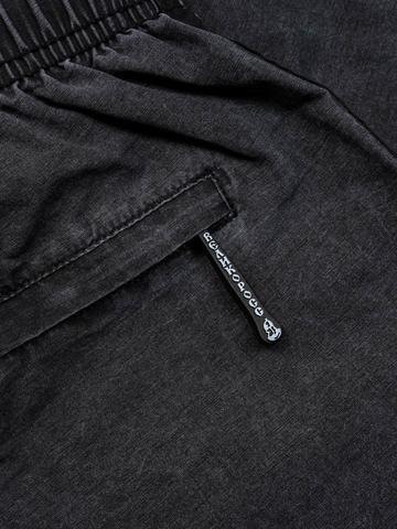 Пляжные шорты «Тёмный графит с коротким лампасом «ВЕЛИКОРОСС»