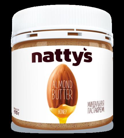 Миндальная крем-паста NATTY'S 170 г