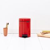 Мусорный бак newIcon (3 л), Пламенно-красный, арт. 112140 - превью 4
