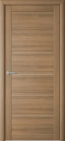 Дверь Фрегат ALBERO Вена, стекло матовое, цвет кипарис янтарный, остекленная