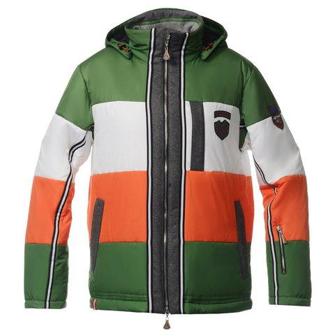 Мужская горнолыжная куртка Almrausch Steinpass 320109-5435 зеленая
