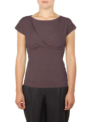 B183-587 блузка женская, серая