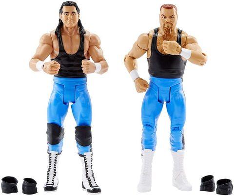 Набор рестлеров Брет Харт и Джим Нейдхарт - Wrestling WWE, Mattel