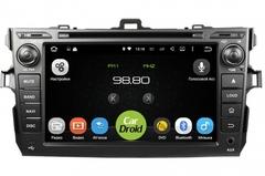Штатная магнитола на Android 8.0 с DPS для Toyota Corolla E150 06-13 Roximo CarDroid RD-1104D