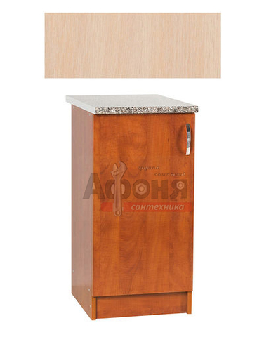 Рабочий стол  40 цвет дуб млечный ,стол. ГРАНИТ (ЛДСП)