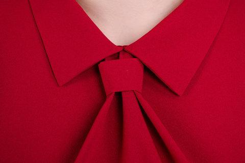 Кортні. Жіноча блузка великих розмірів. Бордо.