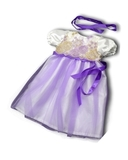 Платье из тафты - Сиреневый. Одежда для кукол, пупсов и мягких игрушек.