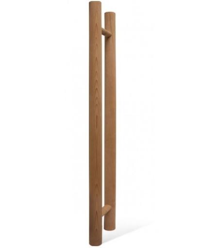 Для дверей: Ручка для двери SAWO 559-D (741 и 742, кедр, прямая) двери дверь sawo 741 3sgd l 3 7 19 бронза левая без порога кедр прямая ручка с металлической вставкой