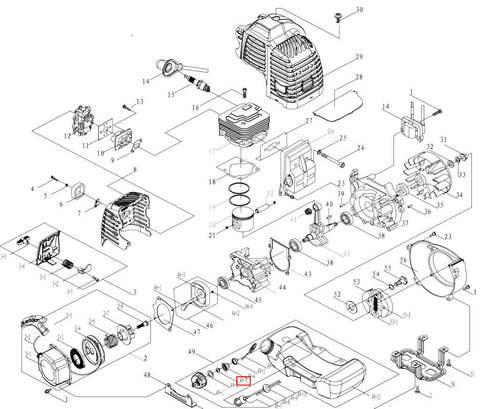 Кольцо уплотнительное для лодочного мотора T3,5 Sea-PRO
