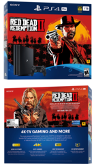 Sony PlayStation 4 Pro Black 1Tб (CUH-7200) + PS4 Red Dead Redemption 2