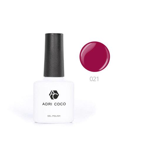 Цветной гель-лак ADRICOCO №021 ягодный (8 мл.)