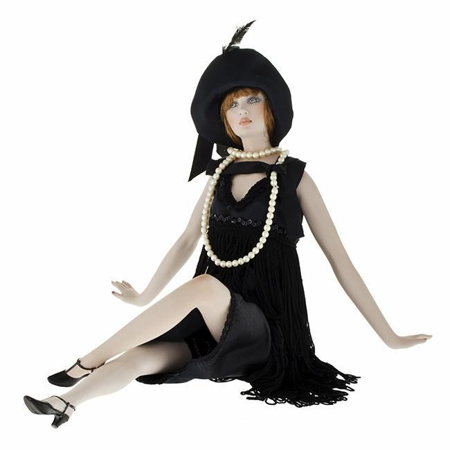 Статуэтки Кукла фарфоровая коллекционная Marigio Luisa 42 см в черном kukla-farforovaya-kollektsionnaya-marigio-luisa-42-sm-v-chernom-italiya.jpg