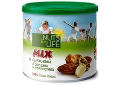 Микс ореховый в специях и пряностях Nuts for Life, 115г