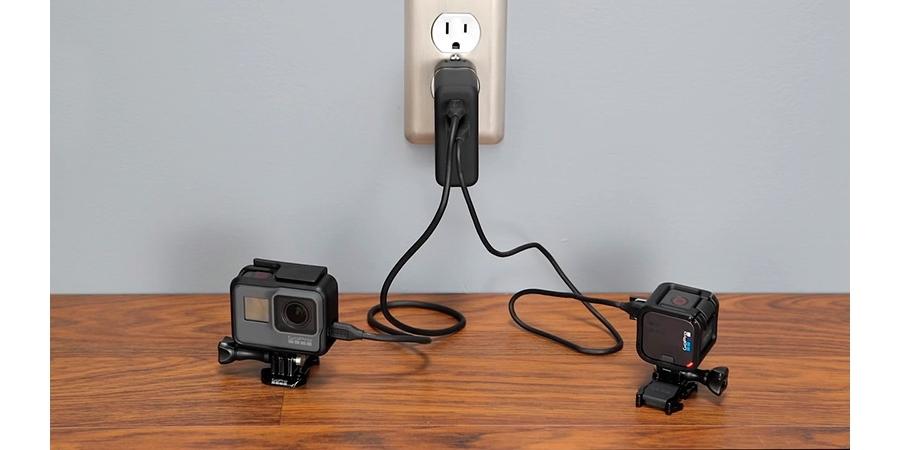 Сетевое зарядное устройство GoPro Supercharger (AWALC-002) зарядка
