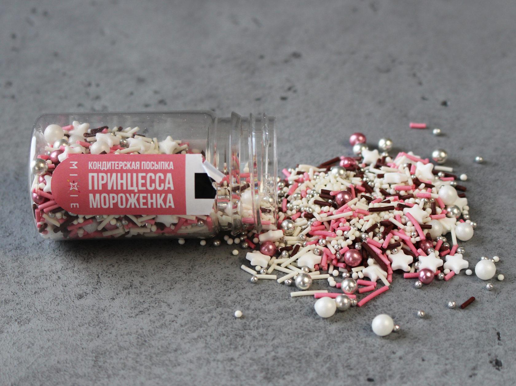 Посыпка «Принцесса мороженка», 50 гр