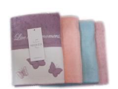 МОНИКА БАБОЧКИ - MONIQUE KELEBEK  полотенце махровое Maison Dor Турция