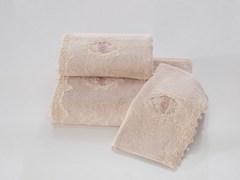 DESTAN-ДЕСТАН  салфетки  махровые 3 предмета 30х50 Soft Cotton (Турция)