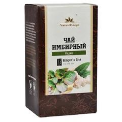 Чай имбирный, Алтай Флора, с баданом, фильтр-пакет, 20 шт*1,5 г.