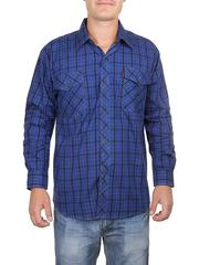 685-4 рубашка мужская, темно-синяя