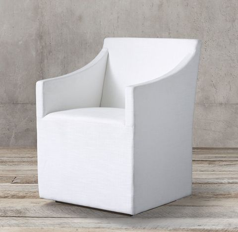 Ellison Slope Arm Fabric Armchair