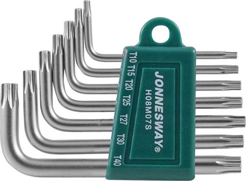 H08M07S Набор ключей торцевых TORX® Т10-40, 7 предметов