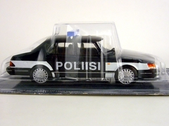 Saab 900 Turbo Finland Police 1:43 DeAgostini World's Police Car #72
