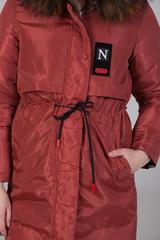 куртка из плащевки женская