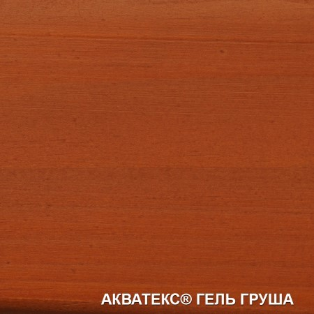 Защитно-декоративное тиксотропное покрытие для древесины Акватекс Гель