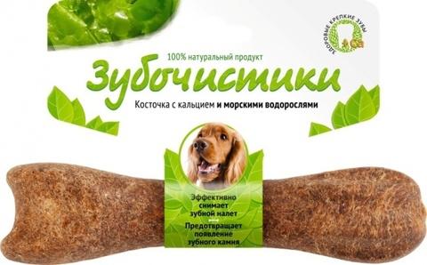 ЗУБОЧИСТИКИ Лакомство жевательное для собак средних пород с Морскими водорослями