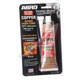 Герметик прокладок медно-силиконовый бронзовый ABRO 418-AB 85 г (12шт/кор)