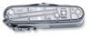 Нож Victorinox SwissChamp, 91 мм, 31 функция, полупрозрачный серебристый