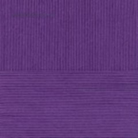 Пряжа Детский хлопок Пехорка 698 Темно-фиолетовый купить в интернет-магазине недорого klubokshop.ru, цена за 5 мотков, доставка наложенным платежом