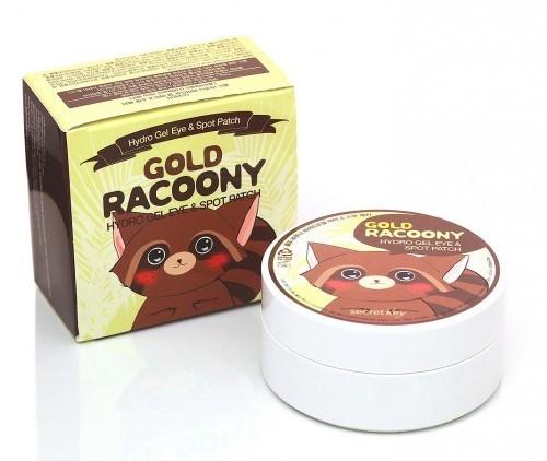 Патчи для кожи вокруг глаз Gold Racoony