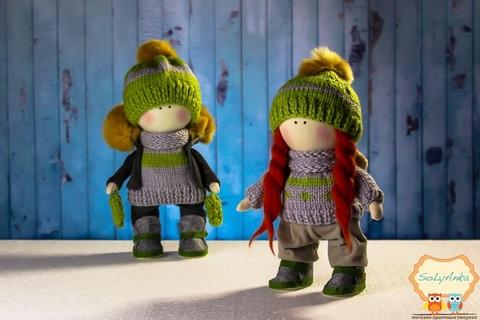 Пара кукол Кира и Майк