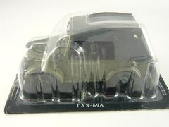 GAZ-69A khaki 1:43 DeAgostini Auto Legends USSR #59
