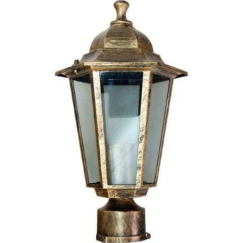 Светильник садово-парковый, 60W 230V E27 черное золото, 6103 (Feron)
