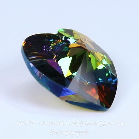 6228 Подвеска Сваровски Сердечко Crystal Vitrail Medium (18х17,5 мм)