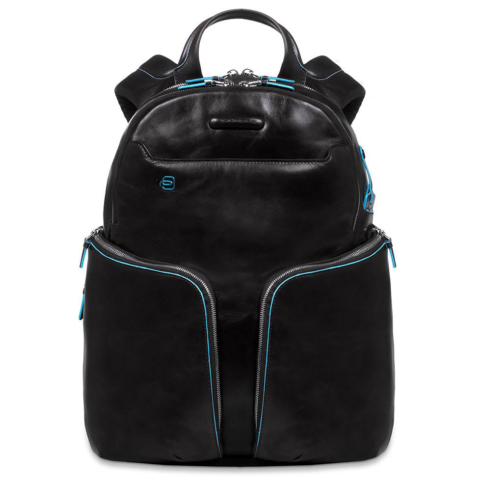 Рюкзак Piquadro Blue Square, цвет черный, 32,5х39х20 см (CA3066B2/N)
