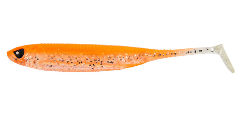 Виброхвост LJ 3D Series Makora Shad Tail 4.0in (10 см), цвет 007, 6 шт.