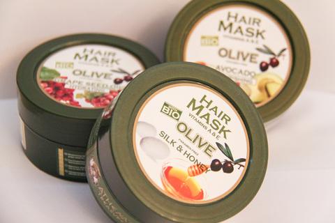 Греческие маски для волос с оливковым маслом ATHENA'S TREASURES