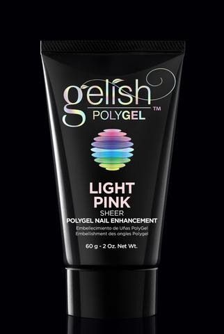 Polygel Light Pink - Светло-розовый (прозрачный) - 60 г.