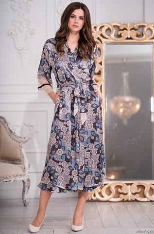 Длинный халат Mia-Amore 3289 LINDA (70% шелк)