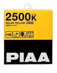 Галогенные лампы PIAA SOLAR YELLOW HB HY107 (2500K)