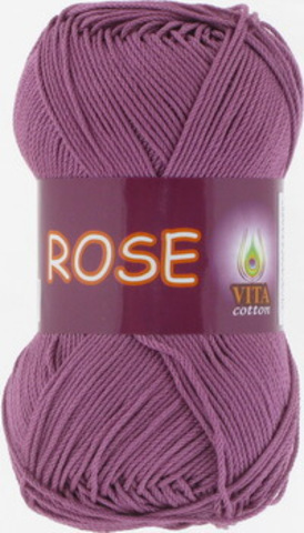 Пряжа Rose (Vita cotton) 4255 Цикламен