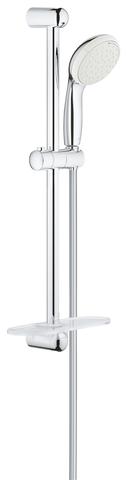 Tempesta New Душевой гарнитур II с полочкой, душевая штанга 600 мм