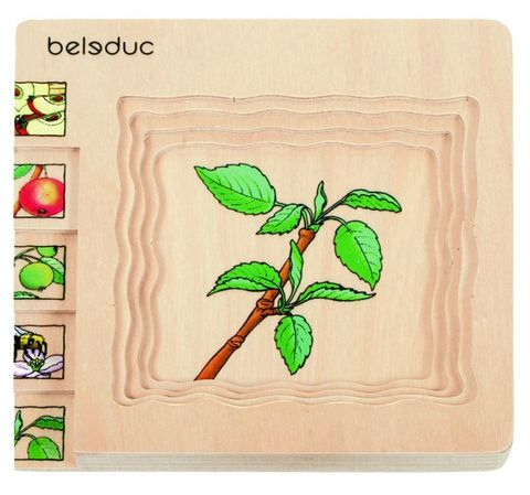 Beleduc. Развивающий пазл
