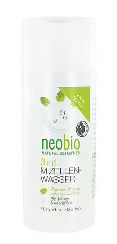 NEOBIO Мицеллярная вода 3 в 1