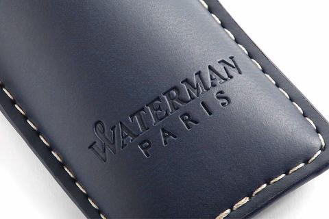 Набор с чехлом и Шариковая ручка Waterman Hemisphere, цвет: MattBlack CT123
